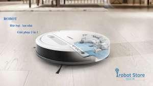 Robot hút bụi lau nhà – giải pháp tối ưu làm sạch 2 trong 1