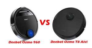 So sánh Ecovacs Deebot Ozmo T8 Aivi và Deebot Ozmo 960: Đột phá về công nghệ